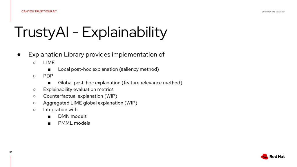 CONFIDENTIAL Designator 38 ● Explanation Librar...