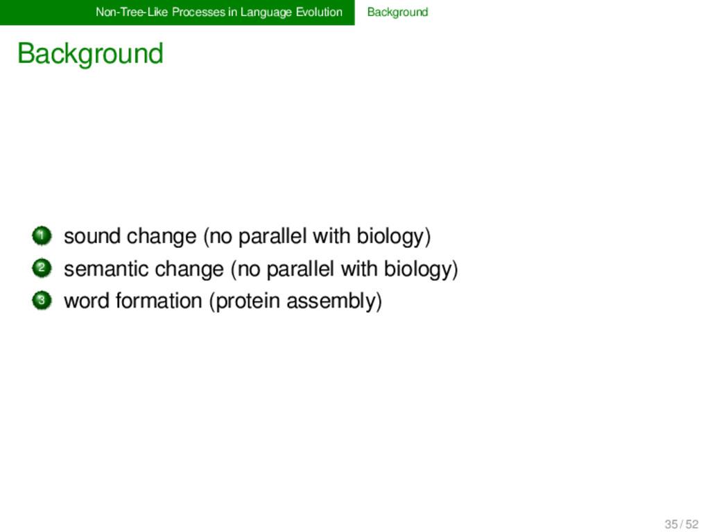 Non-Tree-Like Processes in Language Evolution B...