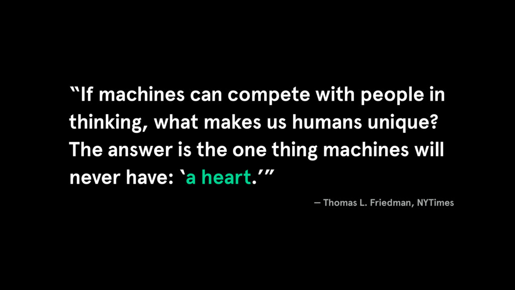 """If machines can compete with people in thinkin..."