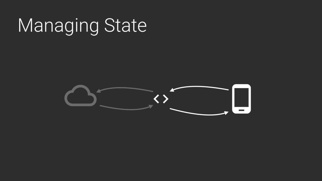 Managing State