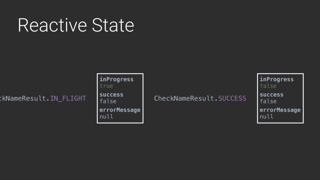 Reactive State ckNameResult.IN_FLIGHT inProgres...