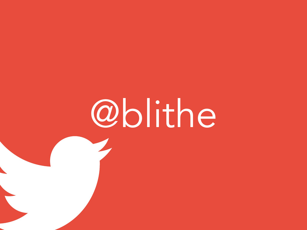 @blithe