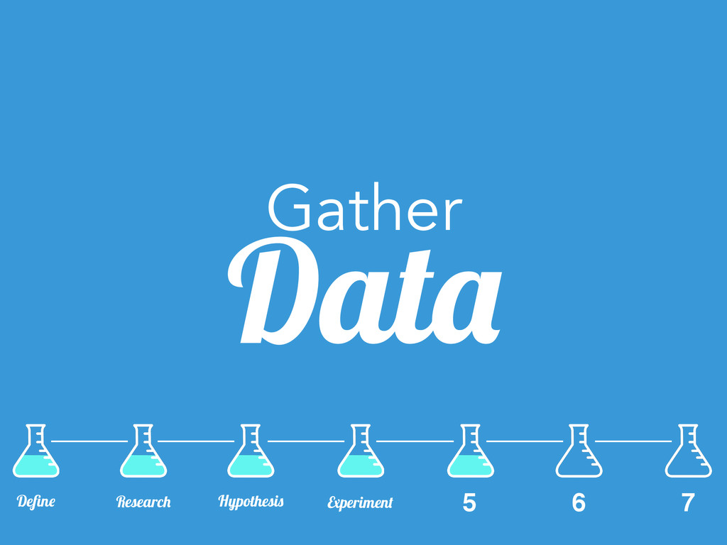 Gather Data 6 7 Define Research Hypothesis Exper...