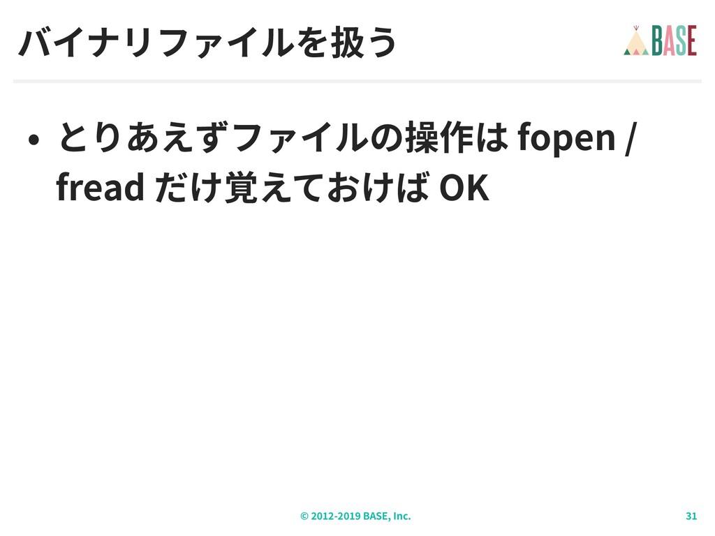 © - BASE, Inc. fopen / fread OK