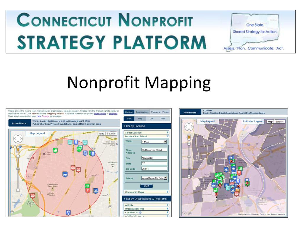 Nonprofit Mapping