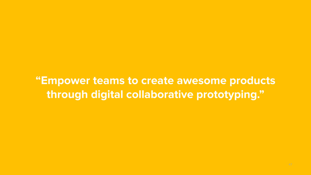 """Empower teams to create awesome products throu..."
