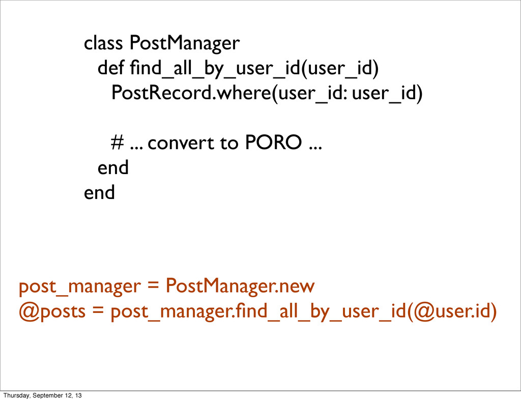 class PostManager def find_all_by_user_id(user_i...