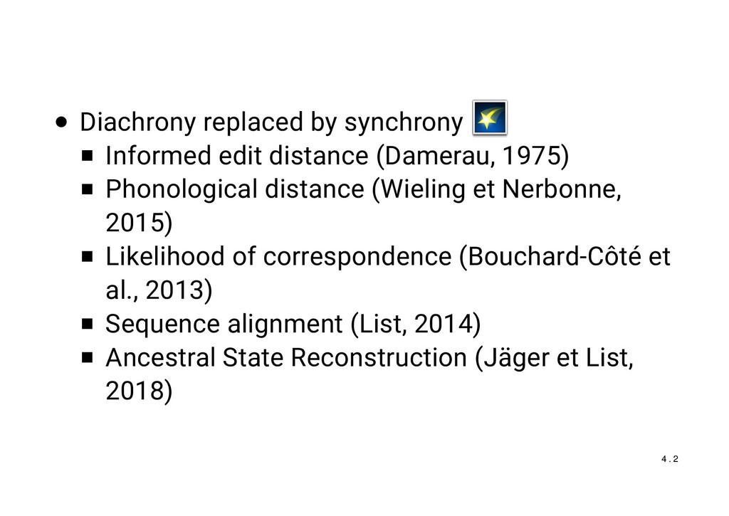 Diachrony replaced by synchrony Informed edit d...