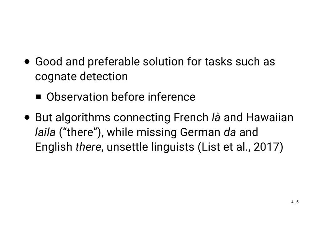 Good and preferable solution for tasks such as ...
