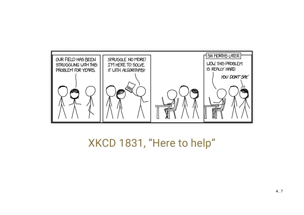 """XKCD 1831, """"Here to help"""" 4 . 7"""