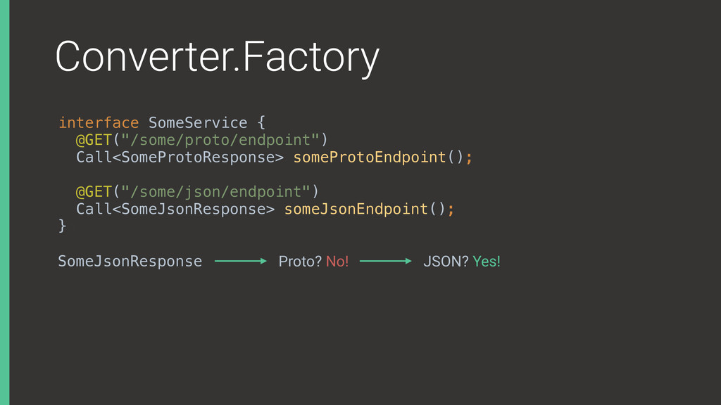 Converter.Factory interface SomeService { @GET...