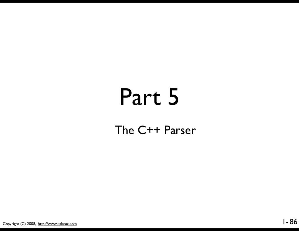 Copyright (C) 2008, http://www.dabeaz.com 1- Pa...