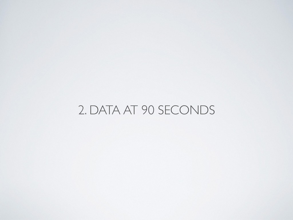 2. DATA AT 90 SECONDS