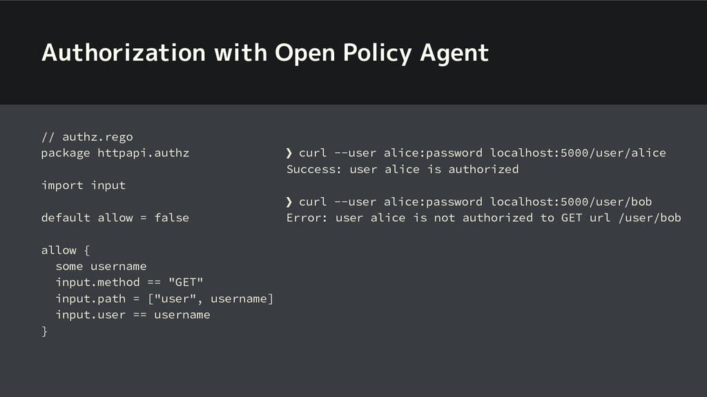 Authorization with Open Policy Agent // authz.r...