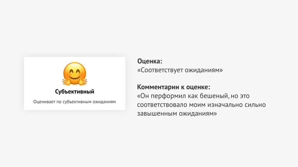 Оценка: «Соответствует ожиданиям» Комментарии ...