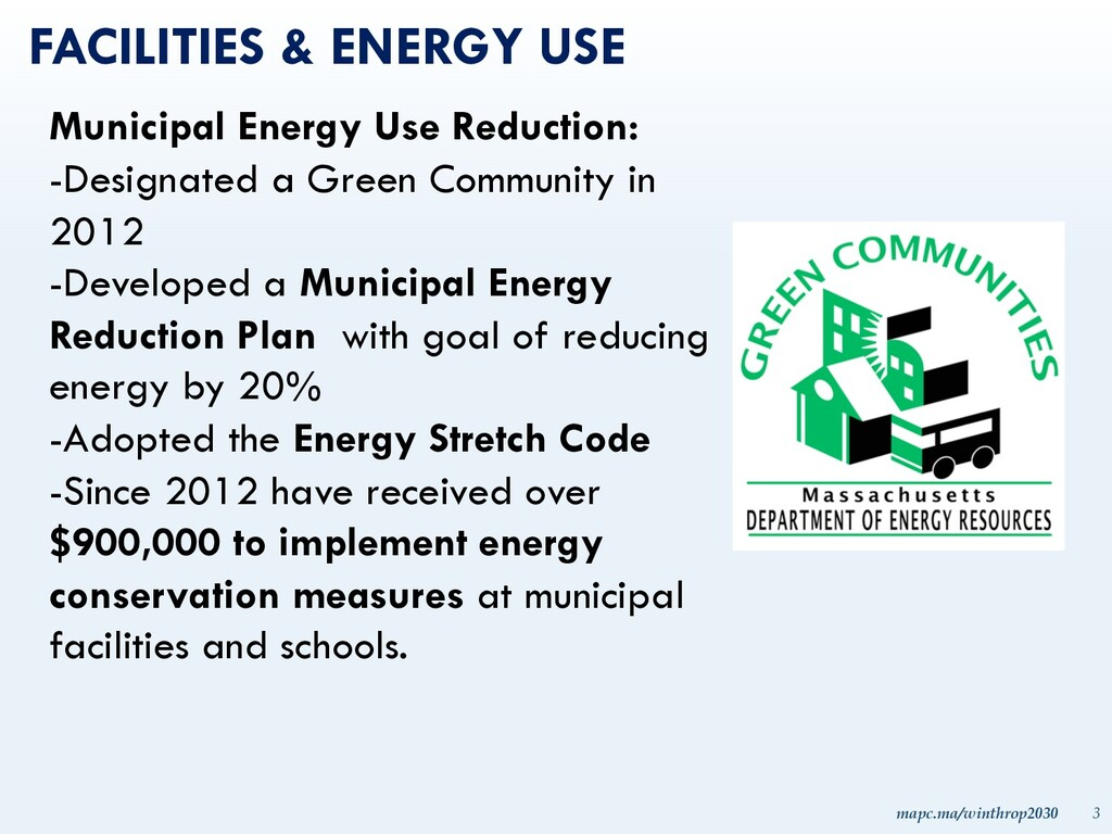 mapc.ma/winthrop2030 3 FACILITIES & ENERGY USE ...