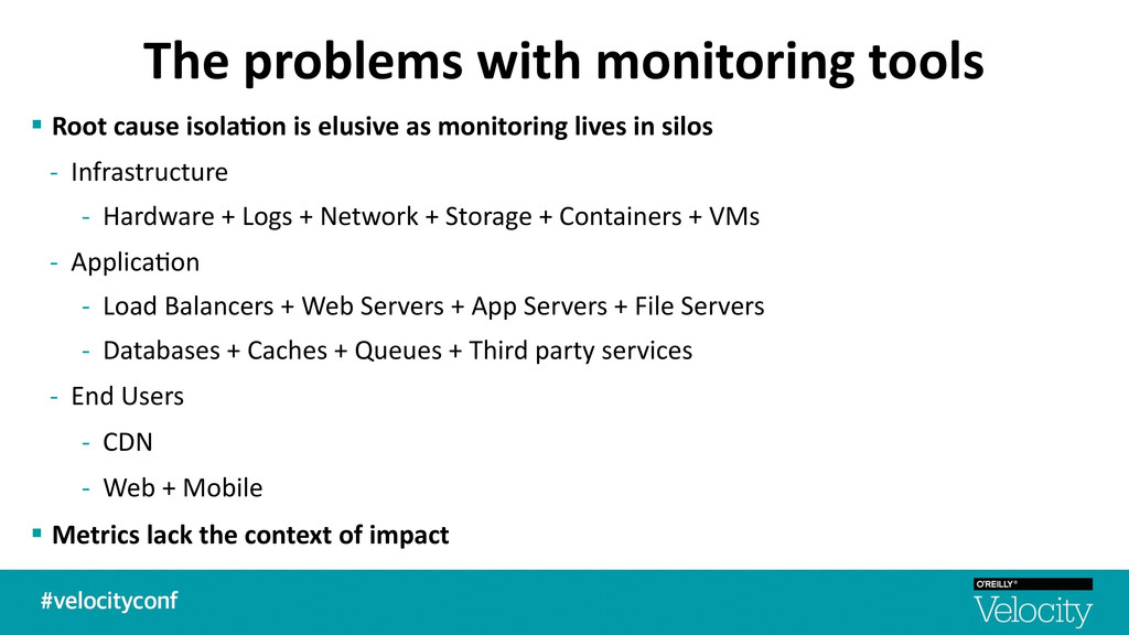 The problems with monitoring tools ...