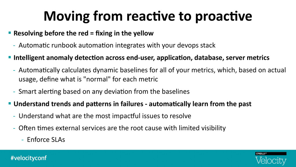 Moving from reac7ve to proac7ve § ...