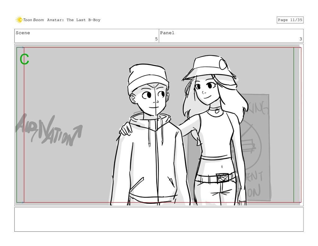 Scene 5 Panel 3 Avatar: The Last B-Boy Page 11/...