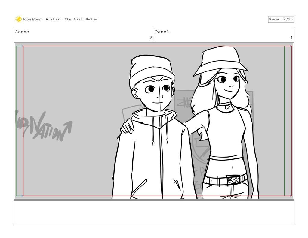 Scene 5 Panel 4 Avatar: The Last B-Boy Page 12/...