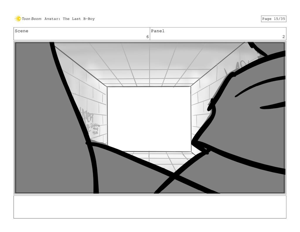 Scene 6 Panel 2 Avatar: The Last B-Boy Page 15/...
