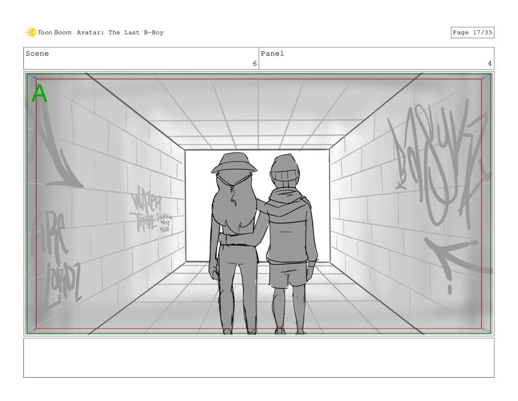 Scene 6 Panel 4 Avatar: The Last B-Boy Page 17/...
