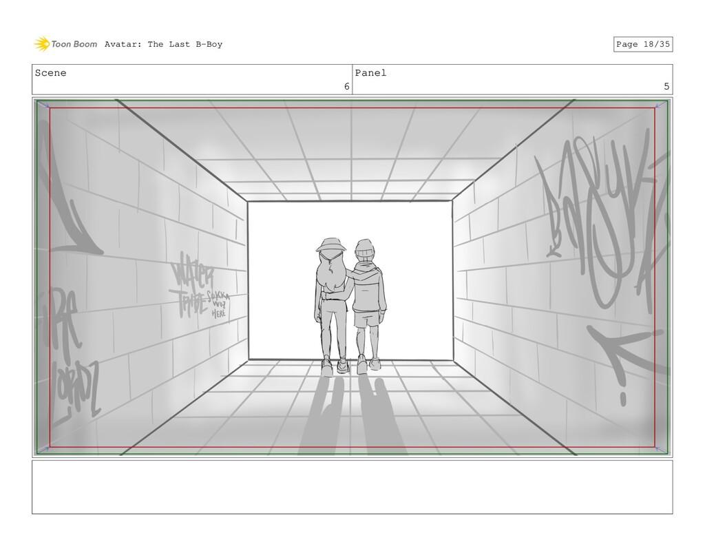 Scene 6 Panel 5 Avatar: The Last B-Boy Page 18/...