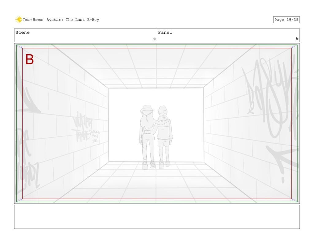 Scene 6 Panel 6 Avatar: The Last B-Boy Page 19/...