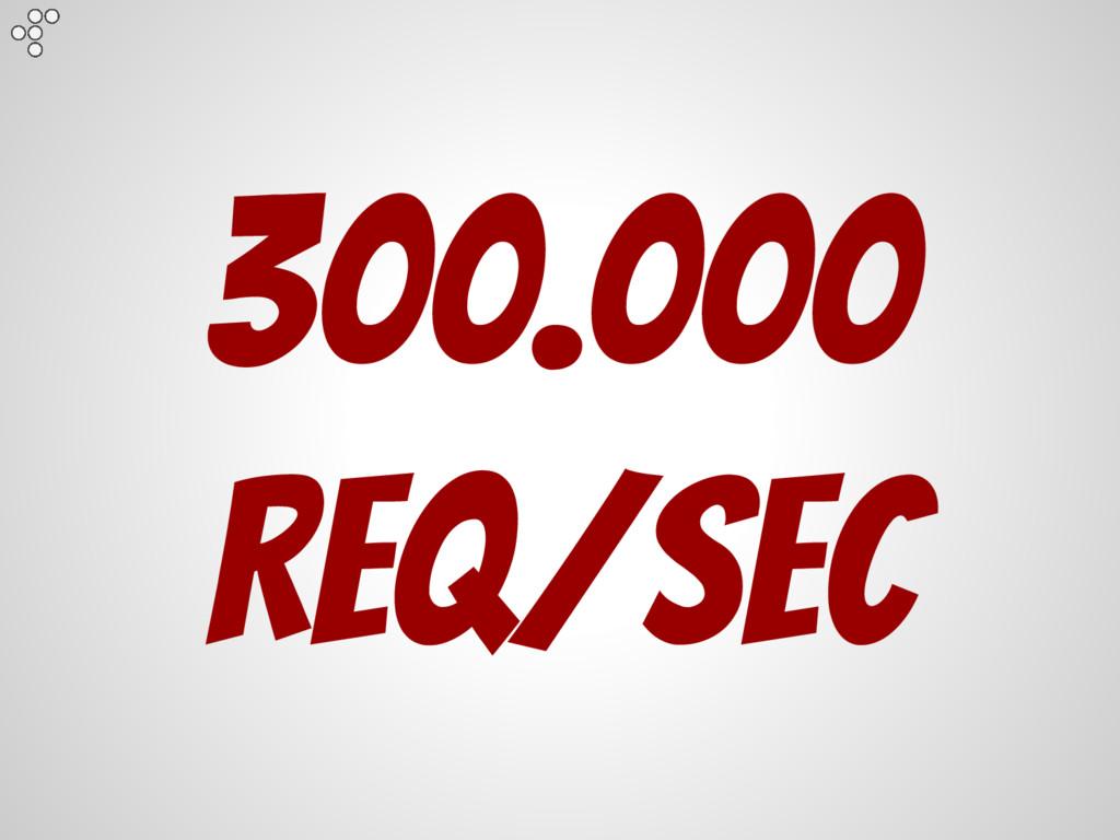 300.000 Req/Sec