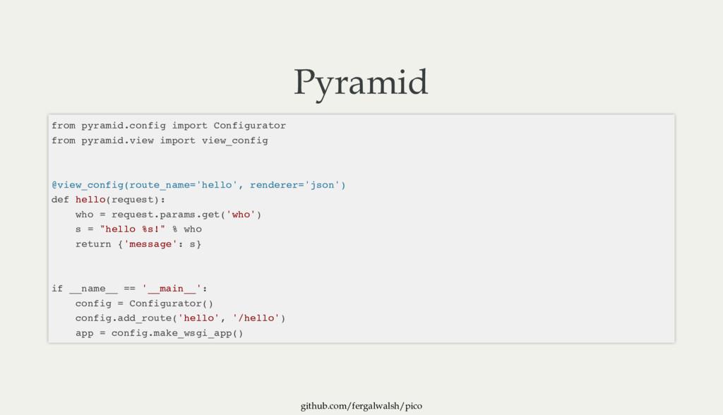 github.com/fergalwalsh/pico Pyramid from pyrami...