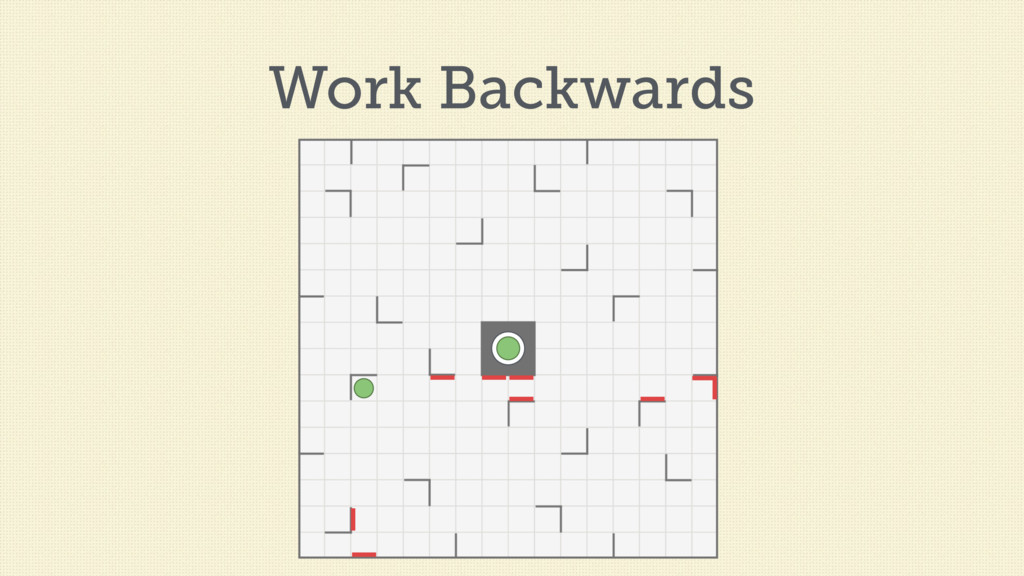 Work Backwards