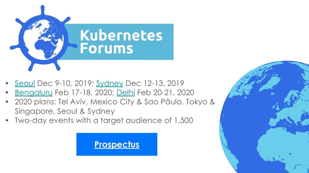 Prospectus • Seoul Dec 9-10, 2019; Sydney Dec 1...