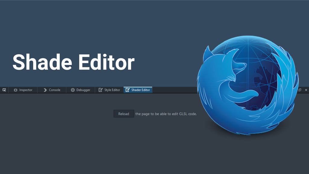 Shade Editor