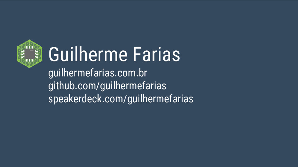 Guilherme Farias guilhermefarias.com.br github....