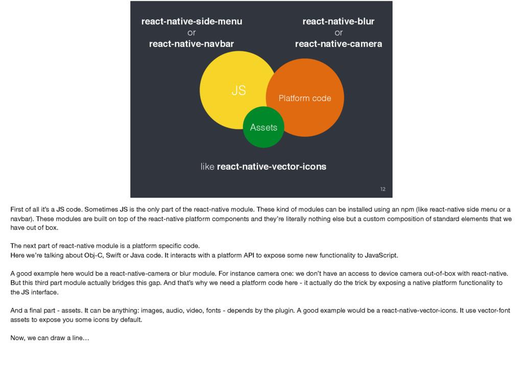 12 JS Platform code Assets react-native-side-me...