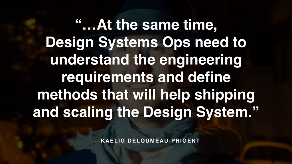"""…At the same time,