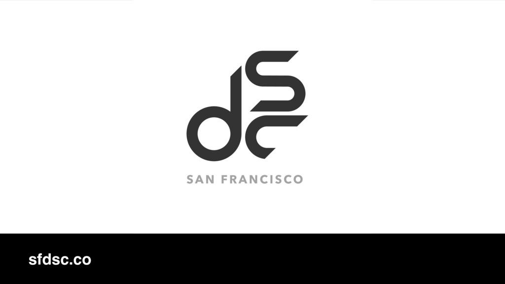 sfdsc.co SAN FRANCISCO