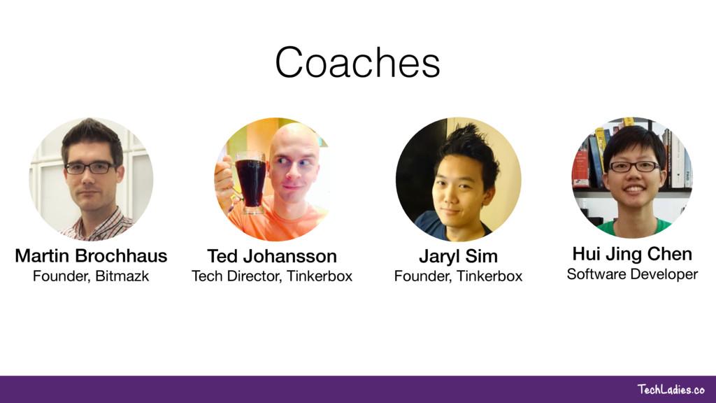 TechLadies.co Coaches Hui Jing Chen Software De...