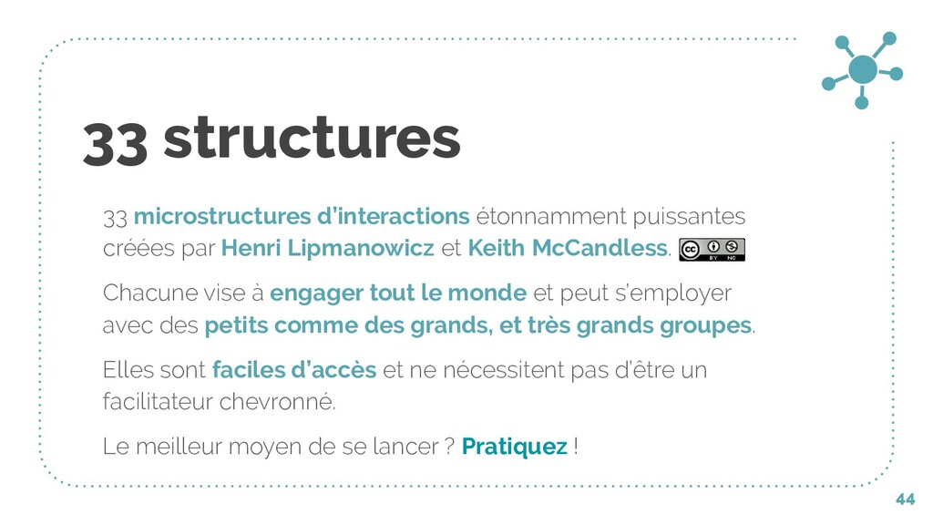33 structures 33 microstructures d'interactions...