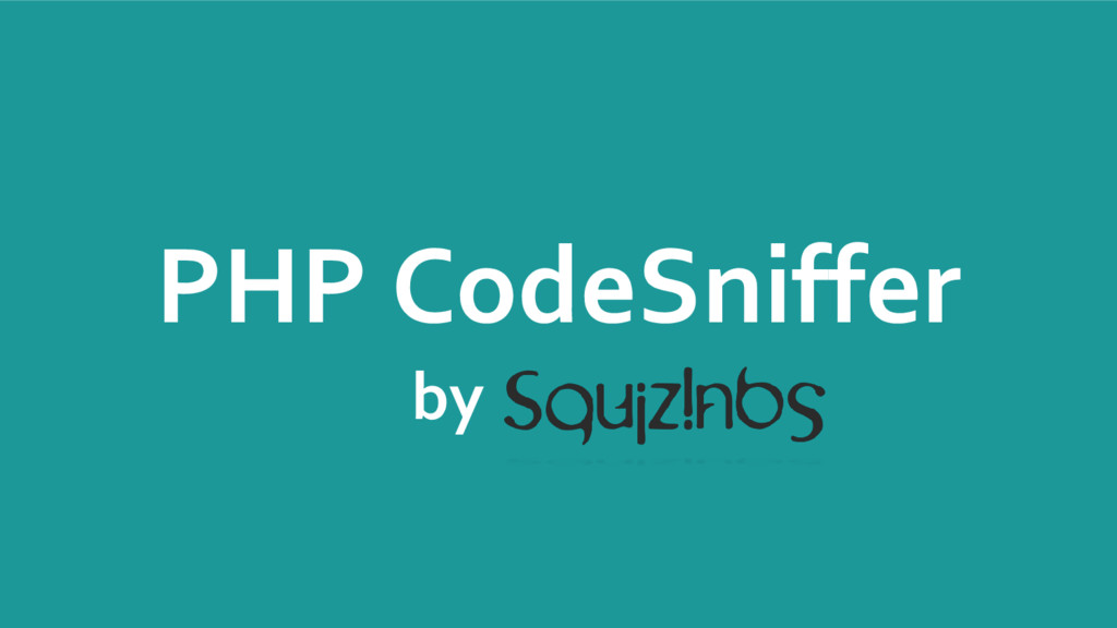 PHP CodeSniffer by