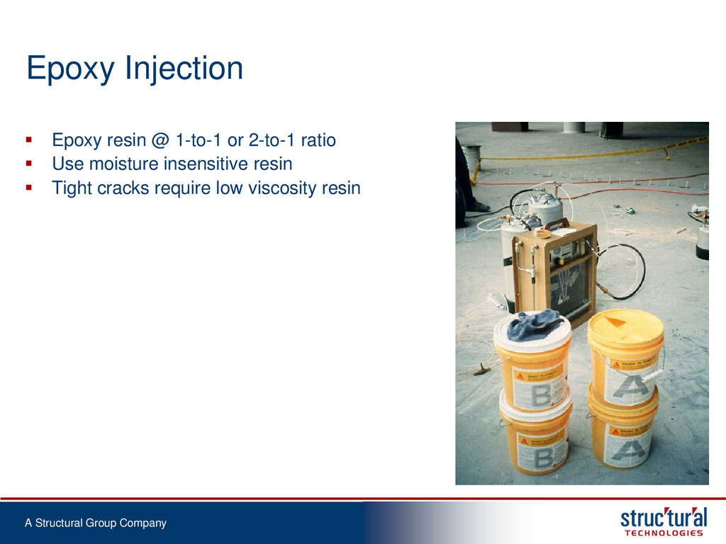 A Structural Group Company Epoxy Injection  Ep...
