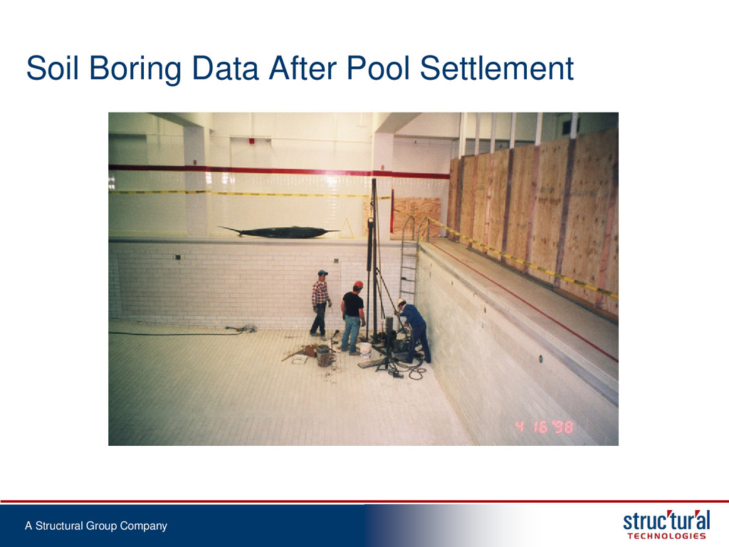 A Structural Group Company Soil Boring Data Aft...