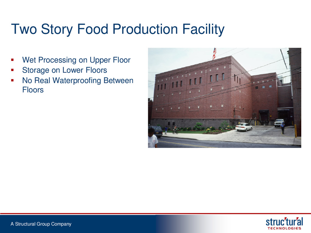A Structural Group Company Two Story Food Produ...