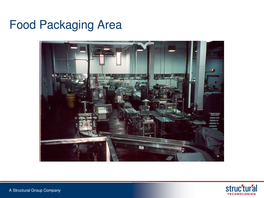 A Structural Group Company Food Packaging Area