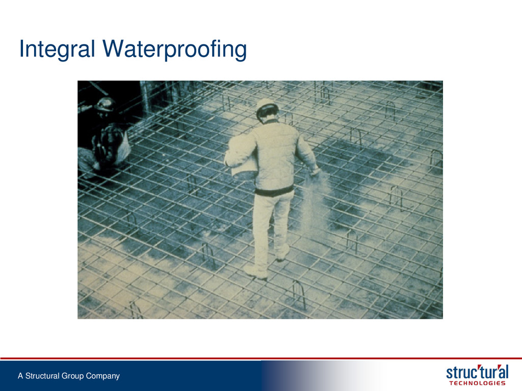 A Structural Group Company Integral Waterproofi...