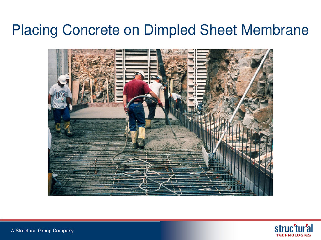 A Structural Group Company Placing Concrete on ...