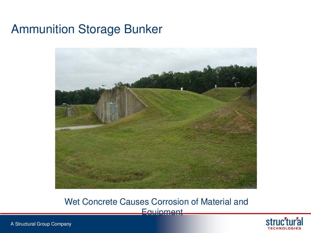 A Structural Group Company Ammunition Storage B...