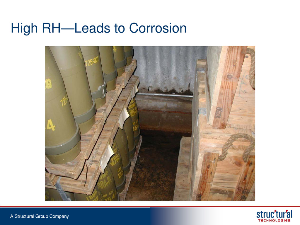 A Structural Group Company High RH—Leads to Cor...