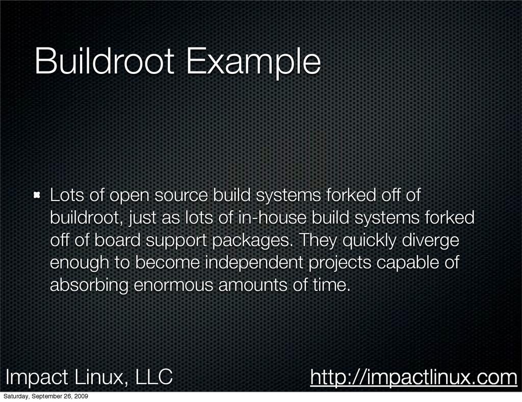 Impact Linux, LLC http://impactlinux.com Buildr...