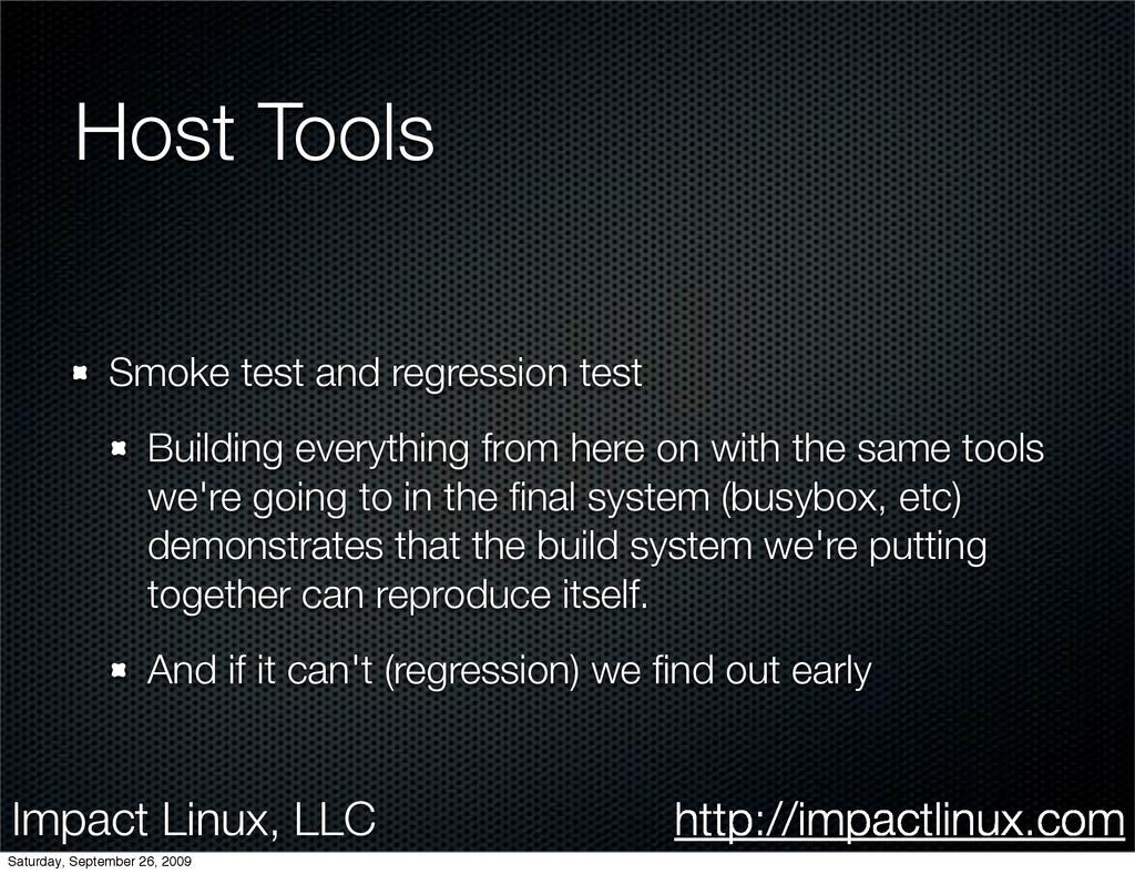 Impact Linux, LLC http://impactlinux.com Host T...
